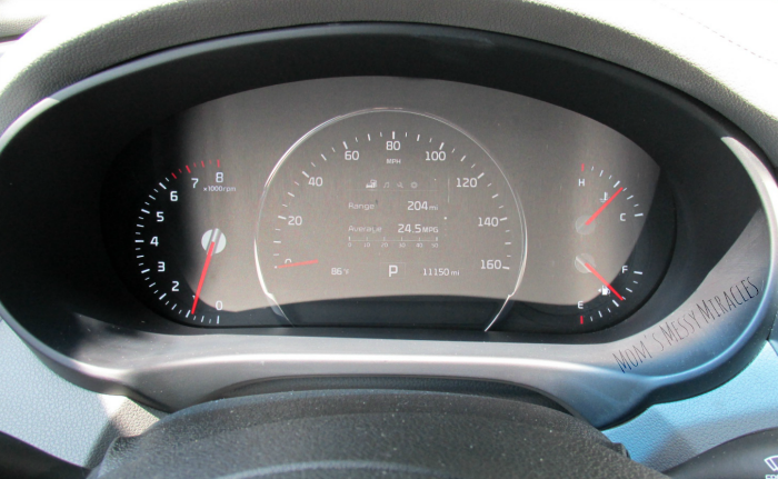 Dash View Kia Sorento