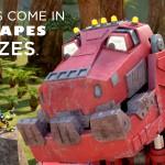 Dinosaurs + Trucks = Dinotrux on Netflix