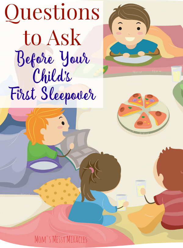 Questions Before Child's First Sleepover