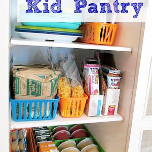 Stocking A Kid Pantry