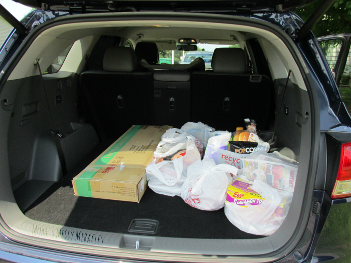 Storage in Kia Sorento