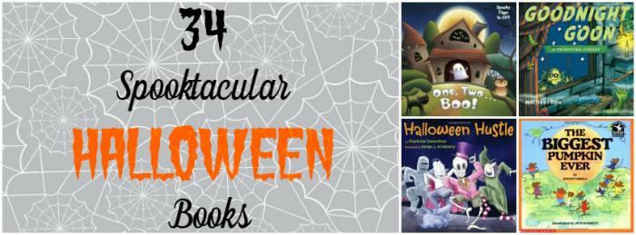 Halloween Books banner