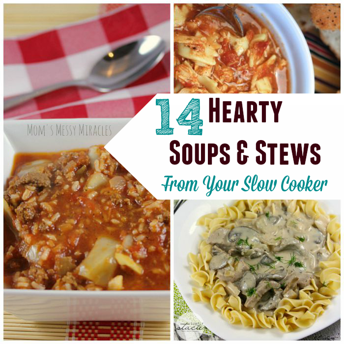 Hearty Soups and Stews Slow Cooker