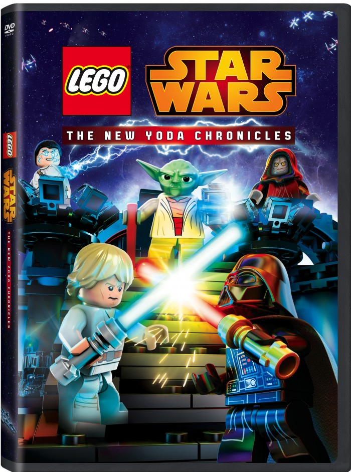 LEGO STAR WARS: The New Yoda Chronicles arrives on DVD September 15, 2015! Features four complete episodes and an alternate ending.