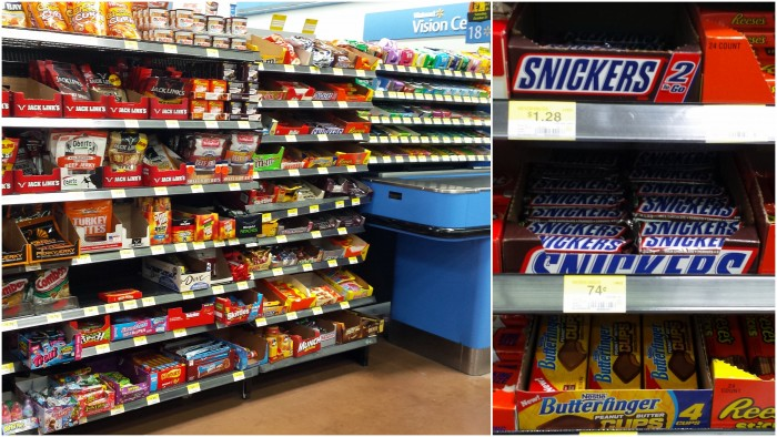 SNICKERS at Walmart