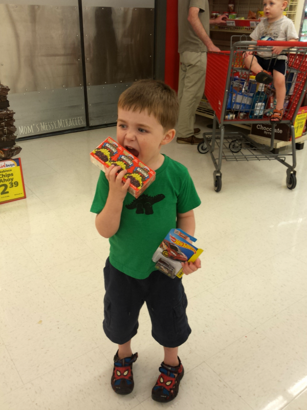 Shopping at Save-A-Lot Back to School