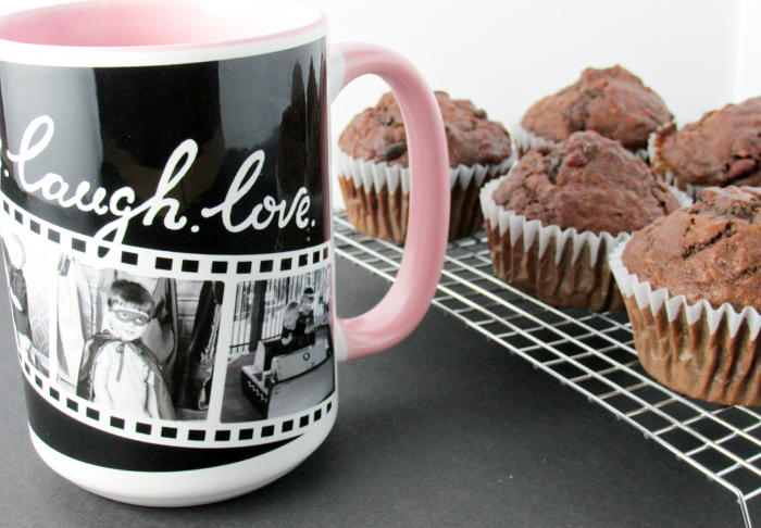 Shutterfly Mug with Muffins