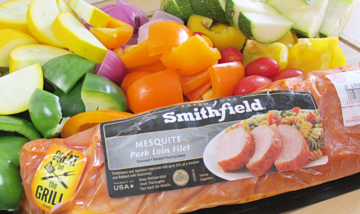 Smithfield Pork and Veggies