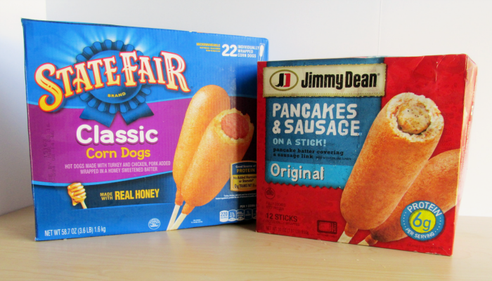 State Fair and Jimmy Dean on a stick