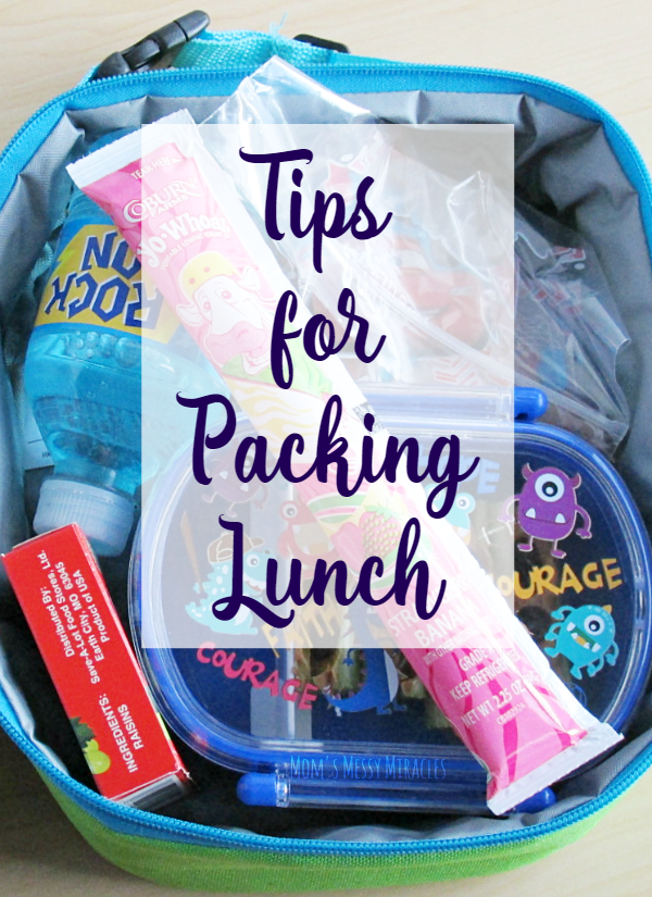3 Simple Tips for Packing Lunch!