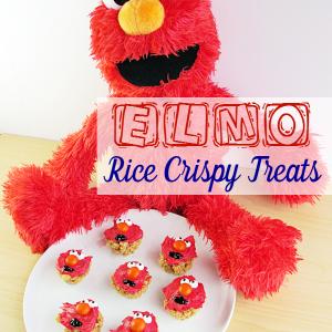 Elmo Rice Crispy Treats