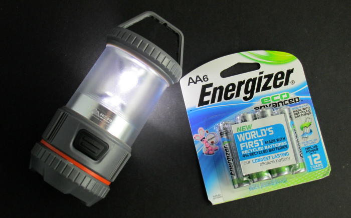 Energizer Eco Advanced with lantern for kids