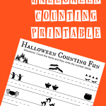 Free Halloween Counting Printable