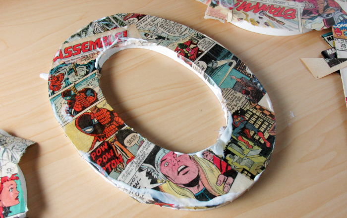 Smoothing the edges of comic letters