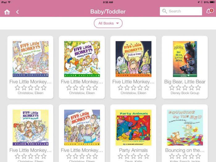 books on HomeTeam app