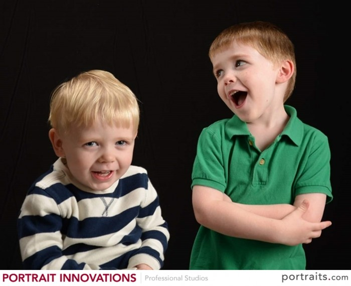 silly boys at Portrait Innovations