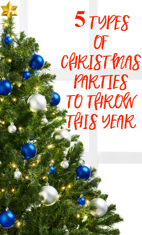5 Types of Christmas Parties