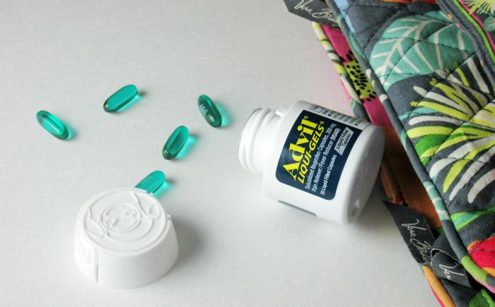 Advil Liqui-Gels in purse