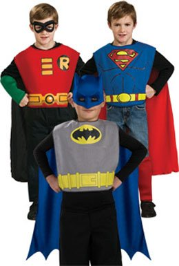 DC Comics Boys Action Trio Costumes