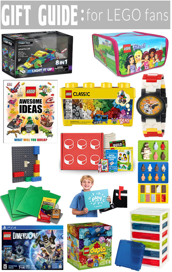 Gift Guide for LEGO fans - Something for everyone that loves LEGO on your list!
