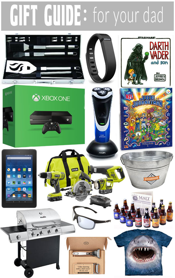 Find something for all of the Dads on your list with our Gift Guide for Dads!