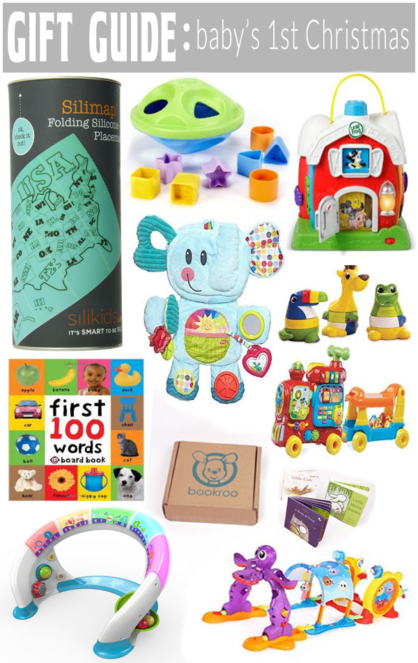 Find something for all the babies this year on our Gift Guide for Baby's 1st Christmas!
