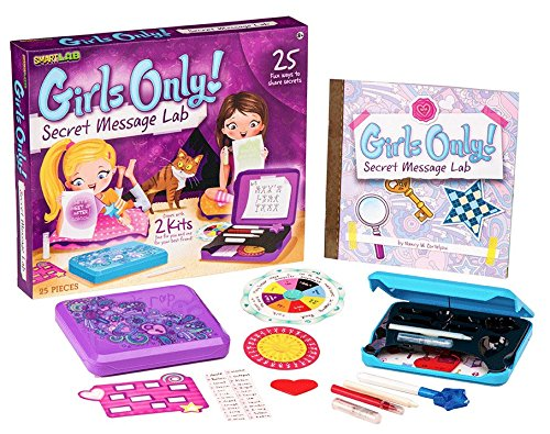 Girls Only Secret Message Lab