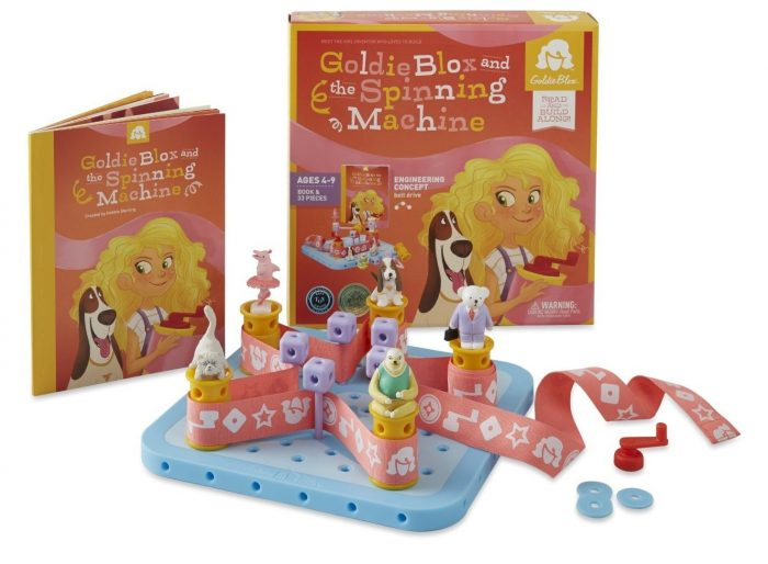 Goldie Blox and Spinning Machine