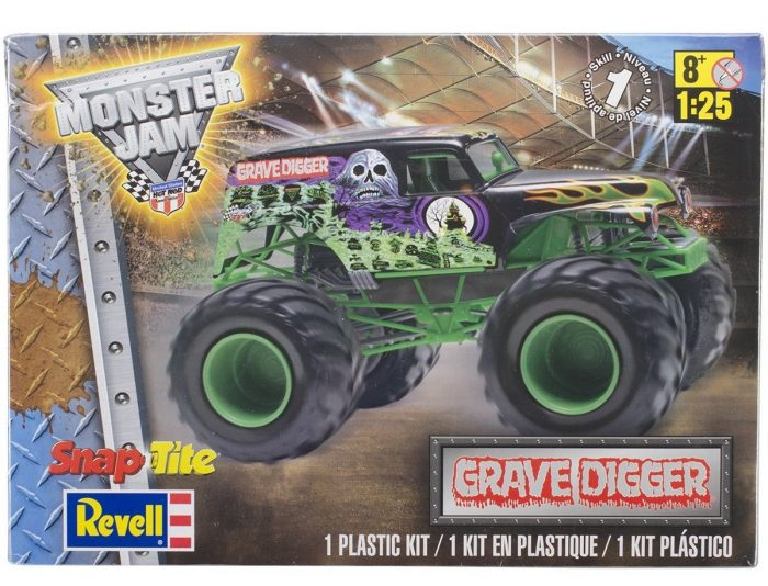 Grave Digger Revell SnapTite
