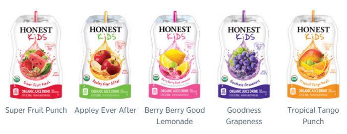 Honest Kids Juice Drink Pouches