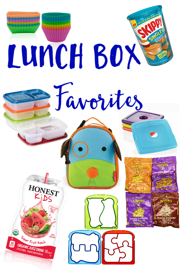 Lunch Box Favorites - We're sharing our favorite items that help us pack great lunches!