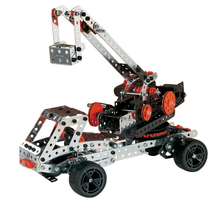 Meccano-Erector Super Construction Set