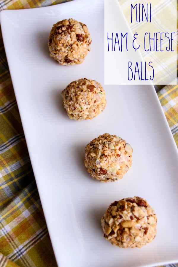 Mini Ham & Cheese Balls are a perfect party appetizer!
