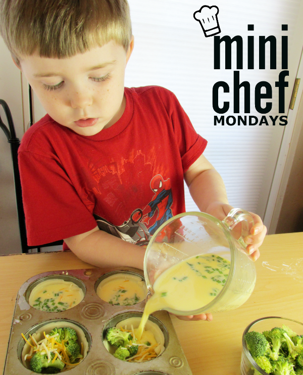 Mini Quiches Mini Chef Mondays