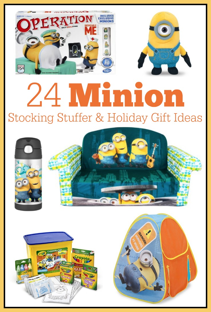 Minion holiday gift ideas the shirley journey minion gift ideas including stocking stuffers childrens furniture toys and art sets negle Image collections