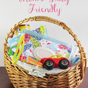 Mom and Baby Friendly Basket