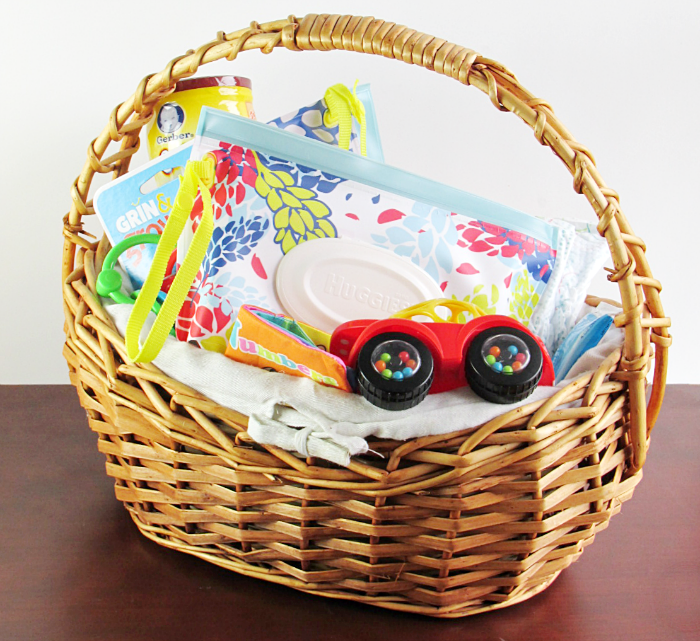 Mom and Baby Friendly Basket for Holiday Visitors