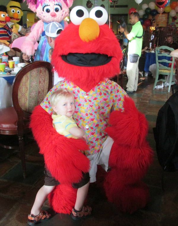 Owen & Elmo Character Breakfast