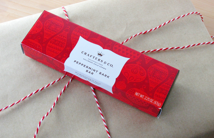 Peppermint Bark Bar on Present