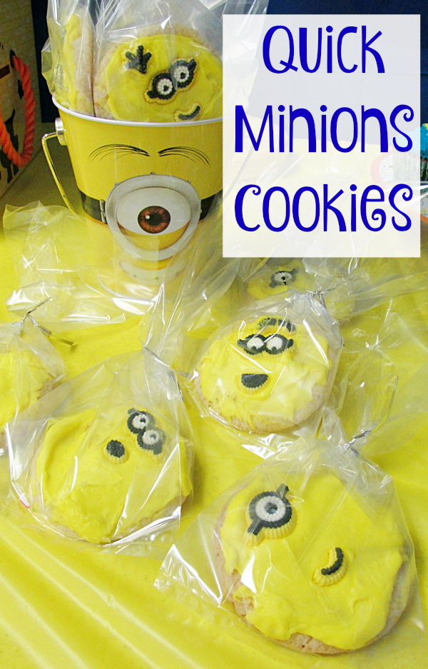 Quick Minions Cookies for Party