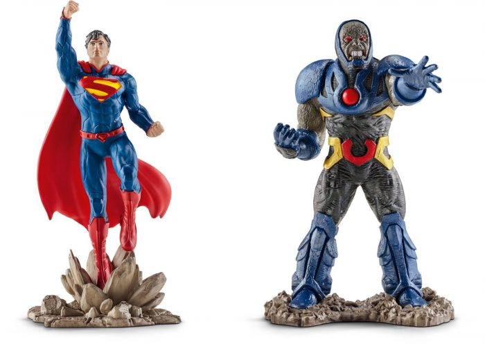 Schleich Superman vs Darkseid