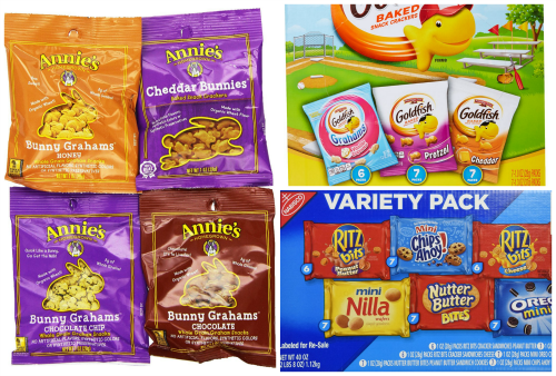Snack Bags Annies Goldfish Nabisco
