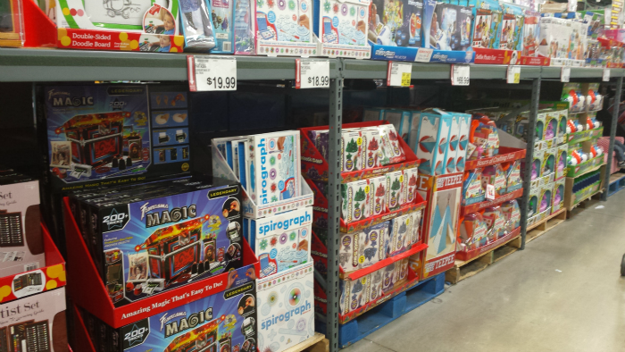 Toy Aisle at BJ's