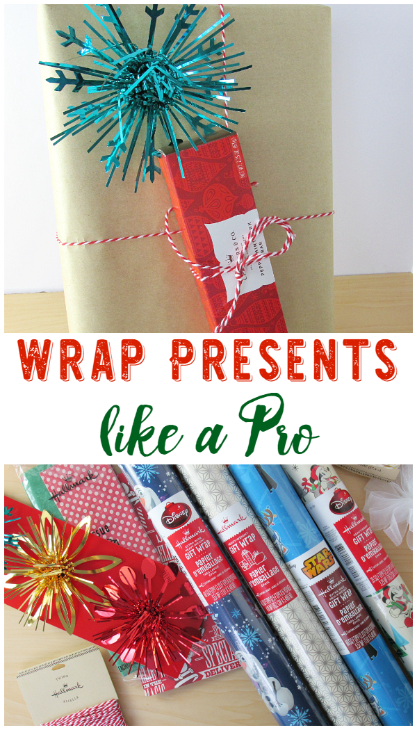 Wrap Presents Like a Pro! Yes, you can do it, make your Christmas gifts extra pretty this year!