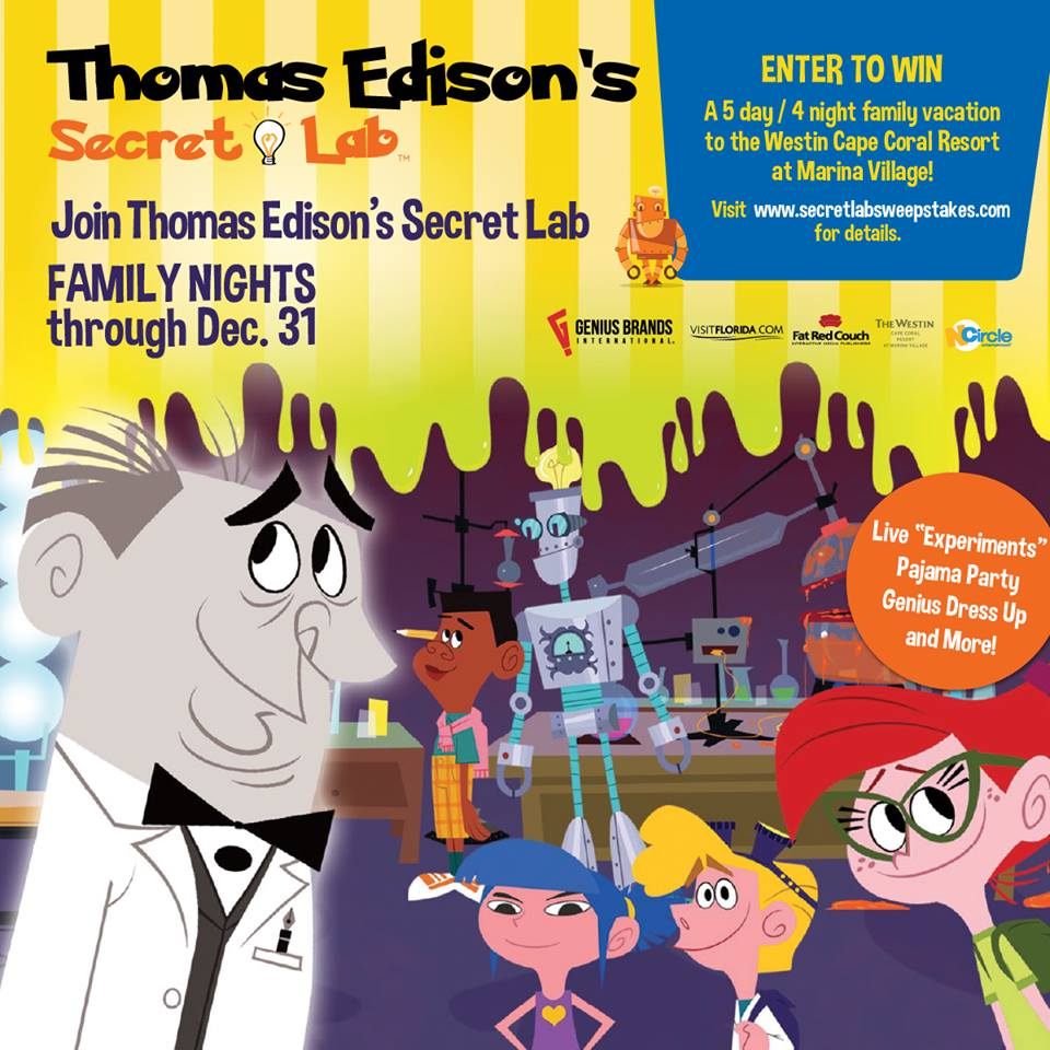 Science-Themed Family Nights at Ovation Brands Restaurants