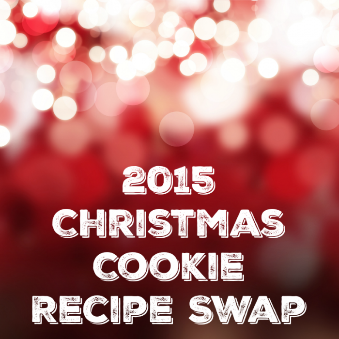 2015 Christmas Cookie Recipe Swap SQUARE