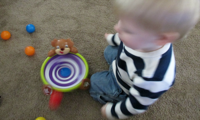 Bright Starts Playdate Spin & Giggle Puppy