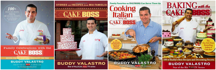 Cake Boss Cookbook Collection