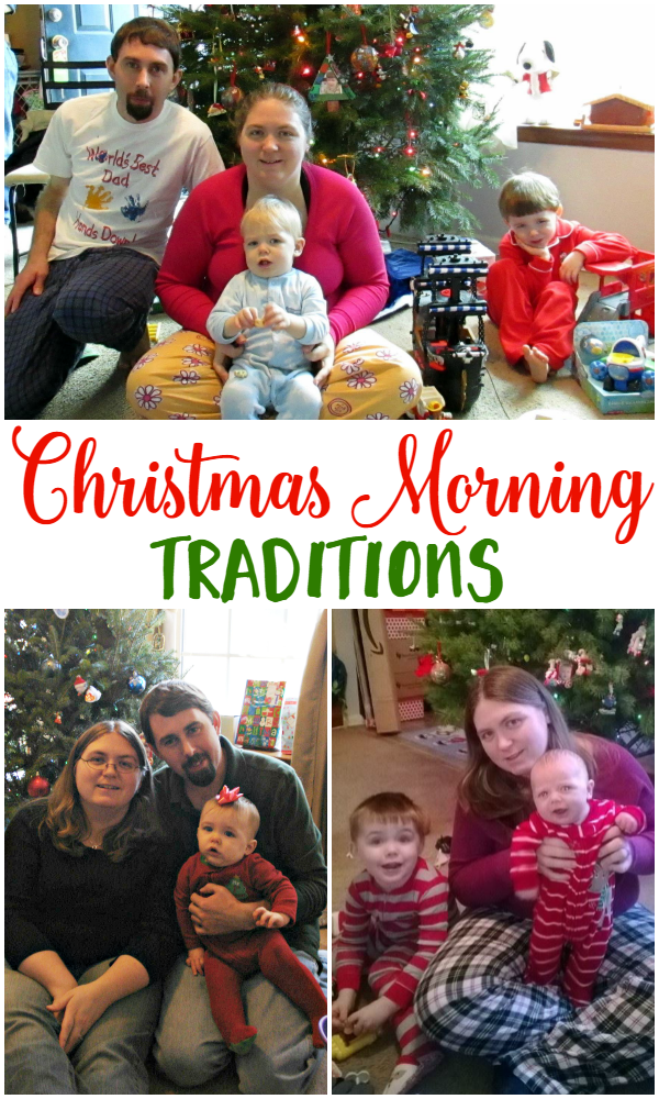 Christmas Morning Traditions - We're sharing our favorites and how we prep to make sure we're ready!