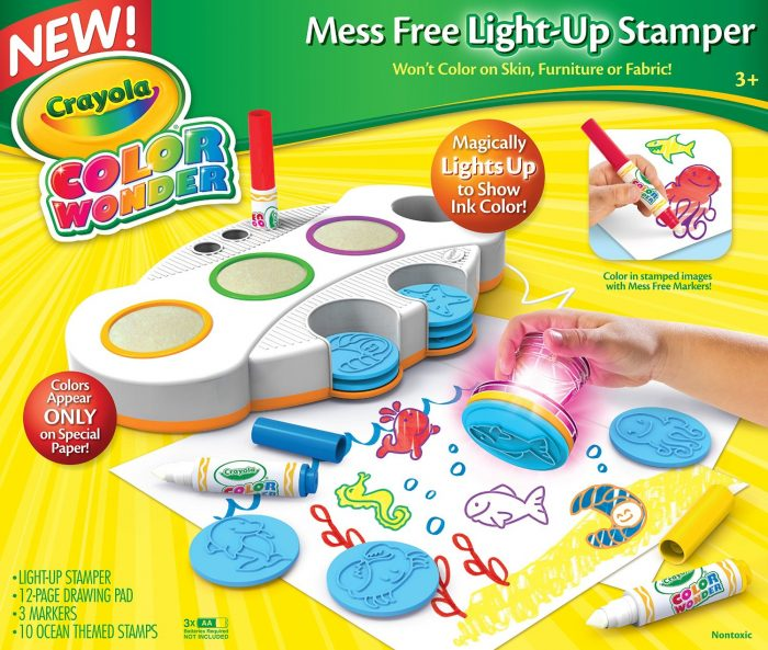 Crayola Color Wonder Light Stamper